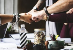 building professional relationships can give you a leg up in business